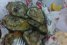 yummy food! / Charbroil oysters from Nolas Dragos rest. / by Emma Roberts