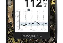 FreeStyleLibre / Le Jardin d'Aubépine - Stickers pour FreeStyle Libre