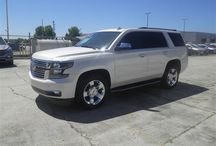 SOLD!! - 2015 Chevy Tahoe - Stock # 50000a