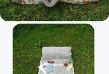 sac serviette de plage à coudre