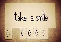 senyum untuk esok / di hari lain akan ada seseorang yang membuatmu tersenyum bahagia