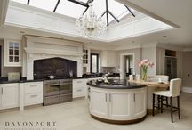 Audley | Traditional Painted Cabinetry. / Simplicity and style combine perfectly in this Davonport collection. The unique design gains influence from baroque, rococo and empire style furniture.   www.davonport.com/kitchens/audley/