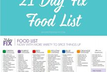 21 DAY FIX FOOD LIST