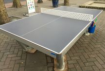 Cornilleau park outdoor ping pong table / Cornilleau park outdoor table tennis