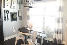 Dinning room fix ups