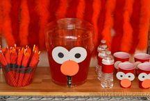 Elmo bday