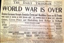 História XXXI - Primeira e Segunda Guerra Mundial / História da Humanidade - 1ª e 2ª Guerra Mundial / by Jardna Juca