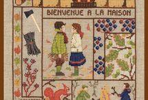 Broderie - Au bonheur des dames