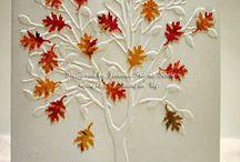 Card Making~~Fall