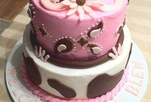 Cowgirl shower cake ideas