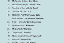 Listas de canciones