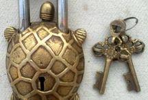 Beautiful old padlocks / Old locks