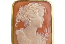 Carnelian Cameo by Italian artists / Hand carved Italian Carnelian cameos available online at Pierotucci.com