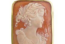 Carnelian Cameo by Italian artists / Hand carved Italian Carnelian cameos available online at Pierotucci.com