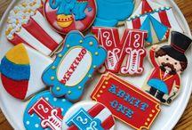 *Circus Cookie Ideas