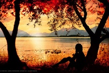 SunSet View ☼ / Awesome sunset views with different color and space✌!!!!!