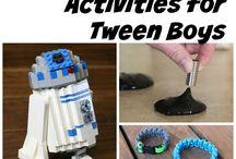 Stuff to do with Tweens