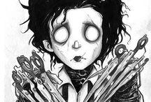 Edward scissorhands art
