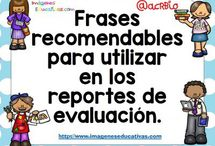 frases para reportes de evaluación
