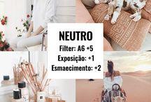 Filtros para Fotos ♤ / Dicas de filtros para fotografias.