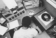 radio/tv (régie/equipamento) - 1940's-1970's