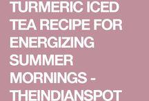 Turmeric iced tea