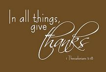 Be Thankful / by Debbie Petras