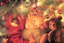 Jul i spisestua