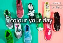 Lookbook Colour your day / #Stendi #lookbook #color #fashion