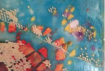 Art Classes and Workshops - Encaustic, Mixed Media and more...