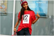 Jourdan Dunn / * my favorite *  With grace and her signature wit, Jourdan Dunn has risen through the ranks to become one of the most wanted models in the business. Whether she's posing for a portrait or unleashing an anecdote on her hilarious personal twitter, Ms. Dunn is an essential player within the world of fashion.