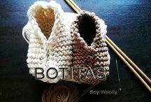Baby knitt