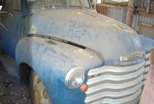 Project Truck / My 1947 Chevrolet stock crate truck project