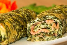 omelettes aux herbes