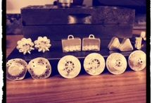 Silver MiMi and Co Flower Inspired Earring Collection