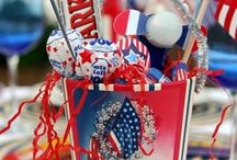 July 4th Fun & Festivity / Fun Candy Crafts and Decorations for the 4th