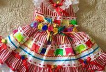 vestido junino.