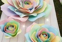 Flores de papel, un lindo toqué a tu evento
