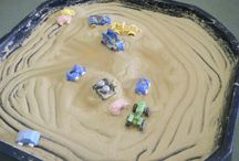 Early Years - 'Mark Making' - not with paint! / by Jo R