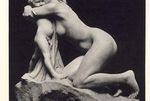 escultura maternal
