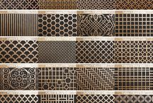 Grilles metal panels
