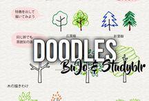 Doodles   BuJo & Studyblr