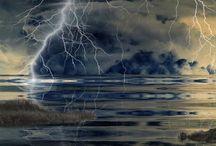 lightening, natures fury