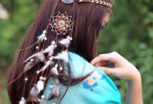 Bohemian Headband / Handmade with love by Purple Beetle