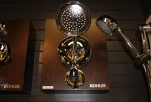 Inspiration from Kohler / Kohler was founded in 1873 by Austrian immigrant John Michael Kohler with the purchase of the Sheboygan Union Iron and Steel Foundry. Early products included cast iron and steel farm implements, castings for furniture factories, and ornamental iron pieces including cemetery crosses and settees. A breakthrough came in 1883 when John Michael applied enamel to a cast iron horse trough to create the company's first bathtub. http://www.remodelworks.com/index.php / by Remodel Works