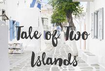 Santorini~Mykonos~Naxos 2018