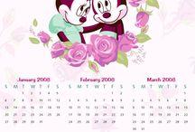 kalender / inspirasjon til design & redesign ♥