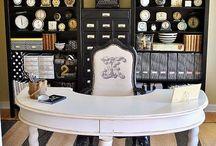 craft room ideas / by Nancy Wiederman