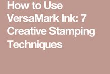 Using Versa Ink