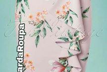 Handmade - strihy sukne